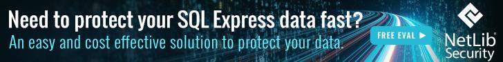 SQL Express Encryption
